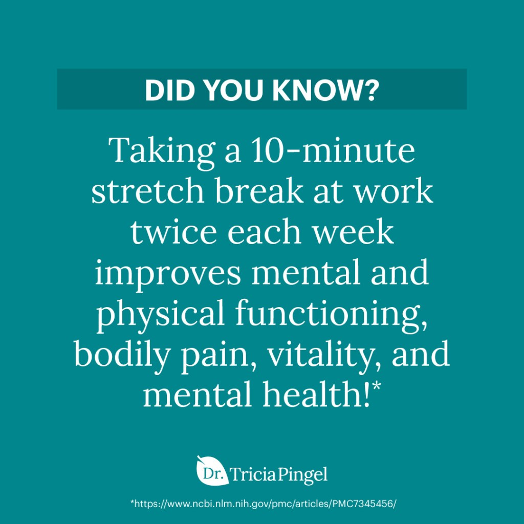 Stretches for desk workers - Dr. Pingel