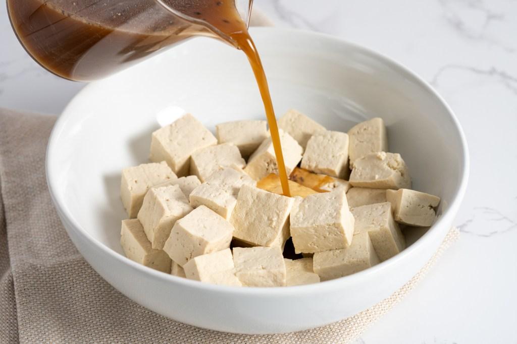 Sesame tofu stir fry recipe - Dr. Pingel