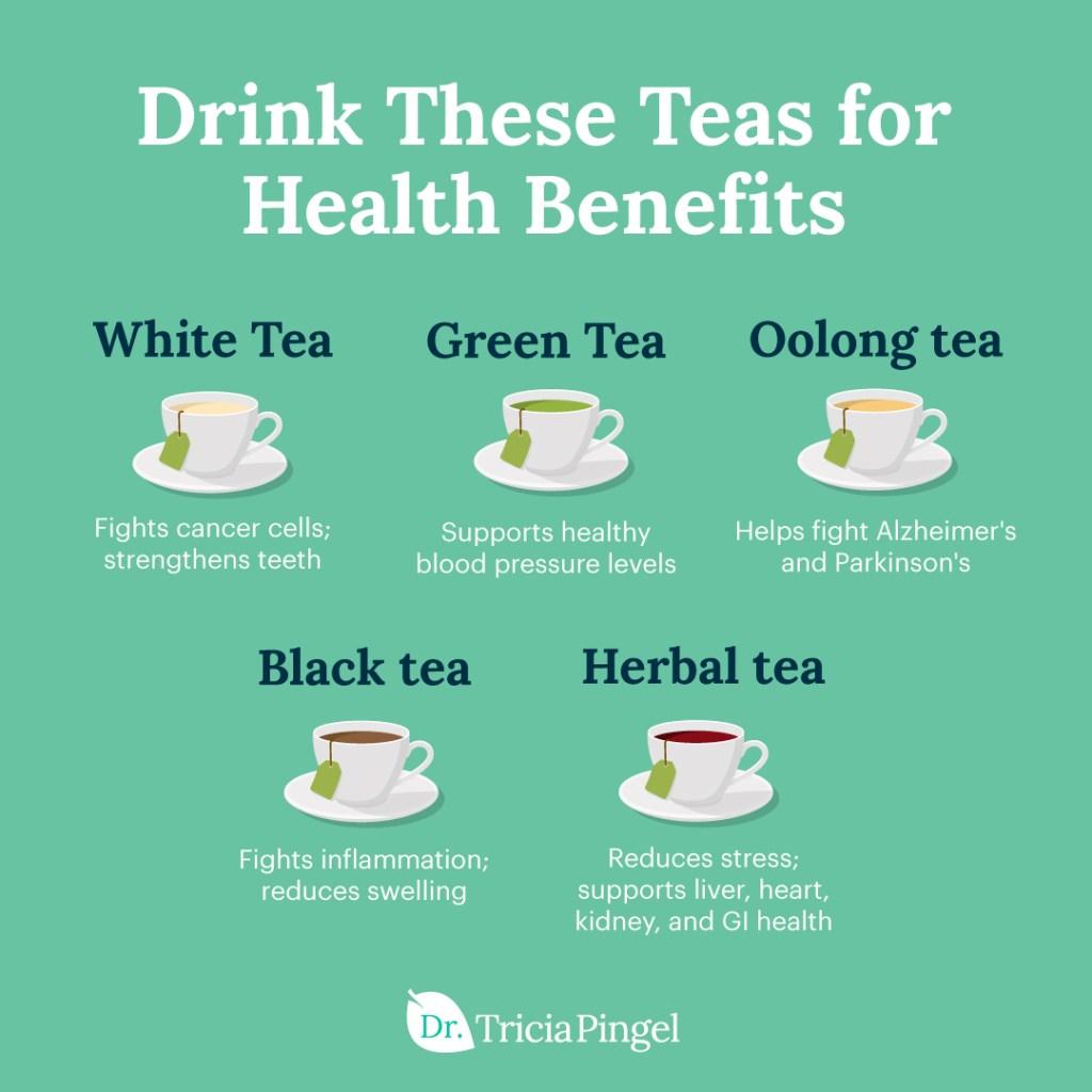 Health benefits of tea - Dr. Pingel