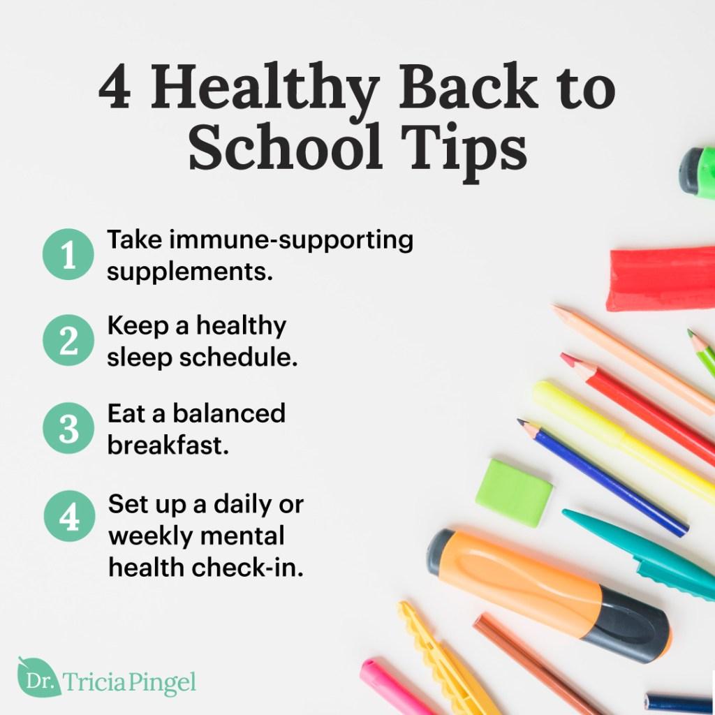 Healthy back to school - Dr. Pingel