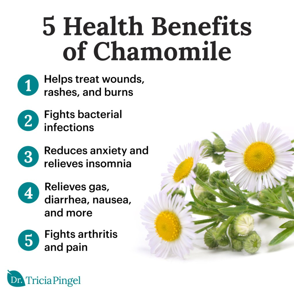 Chamomile tea benefits - Dr. Pingel