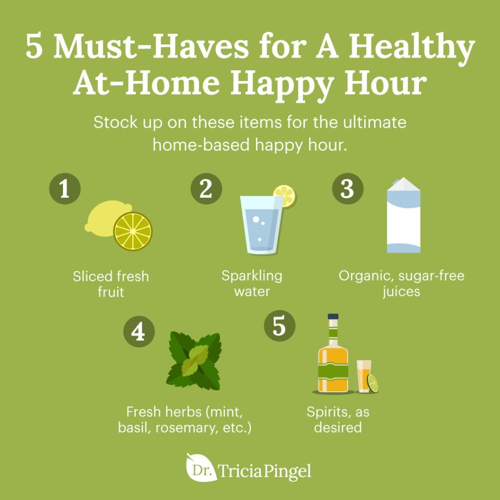 Healthy mixed drinks - Dr. Pingel