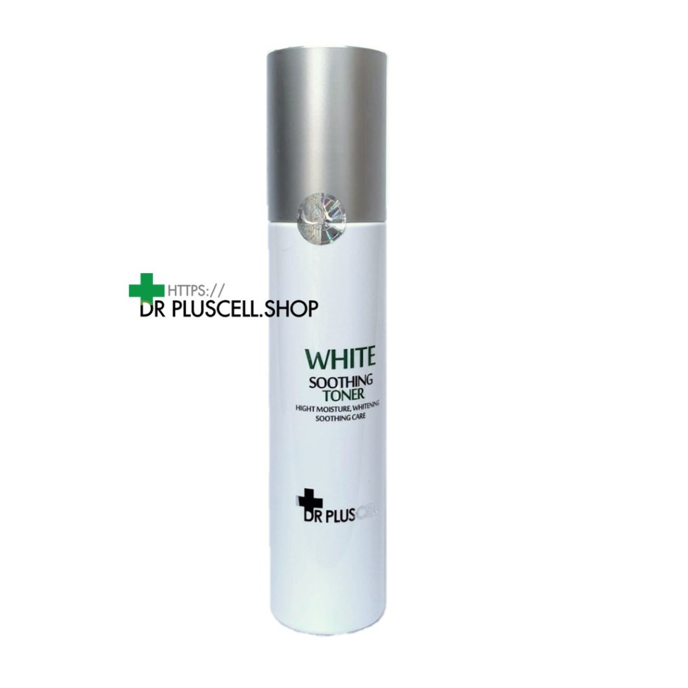 white soothing toner Dr Pluscell
