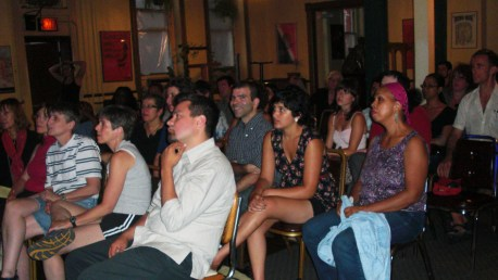 Bogota Change Audience at Decima Musa