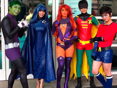 Comicon superheroes