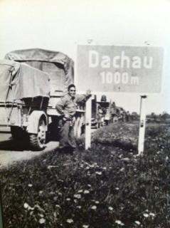 Melvin Hamamoto at Dachau