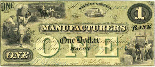 Confederate Banknote