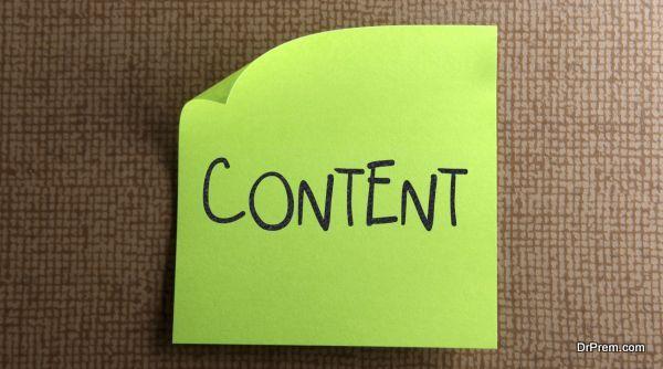 Publish Good content