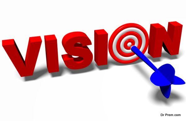 3D metaphores - aiming in target / dart, vision