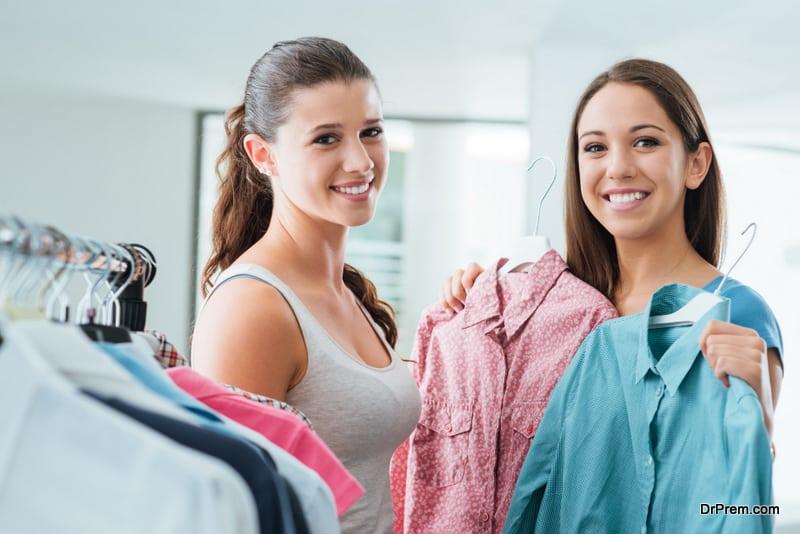 Borrow clothes