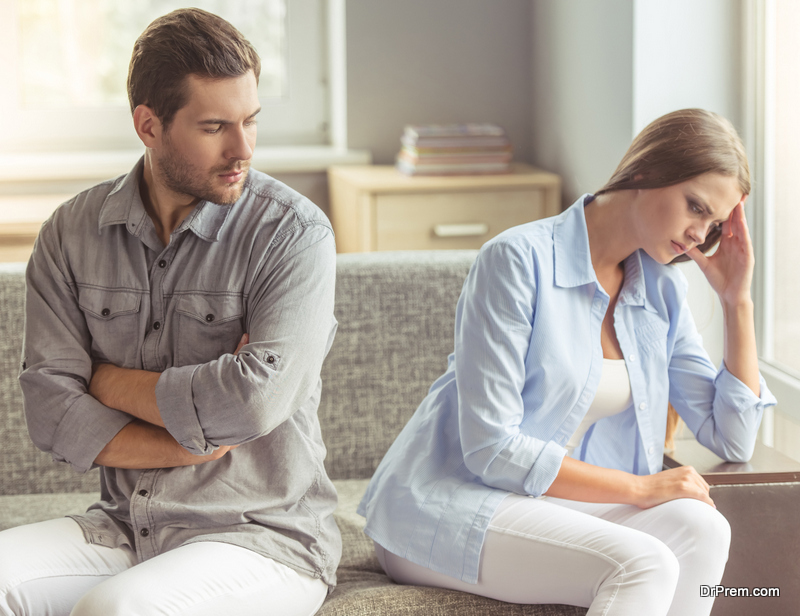 divorce motivated by emotion