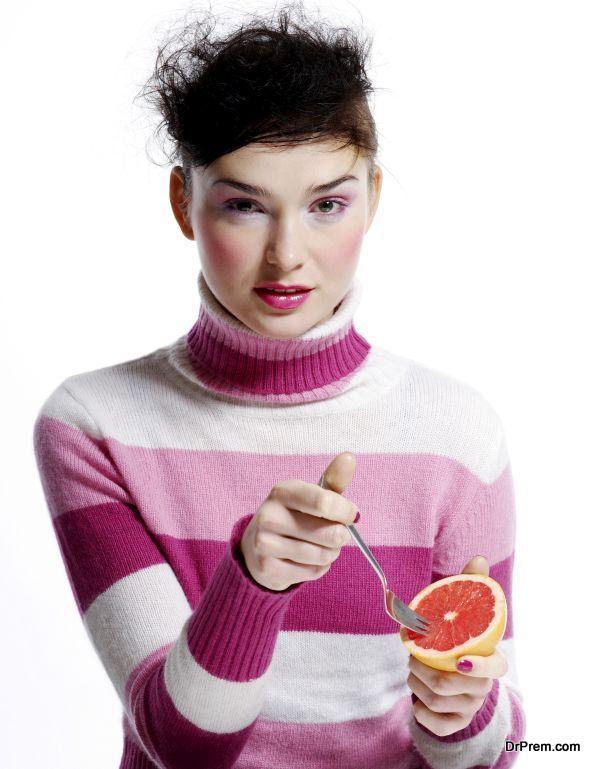 Good intake of fruits