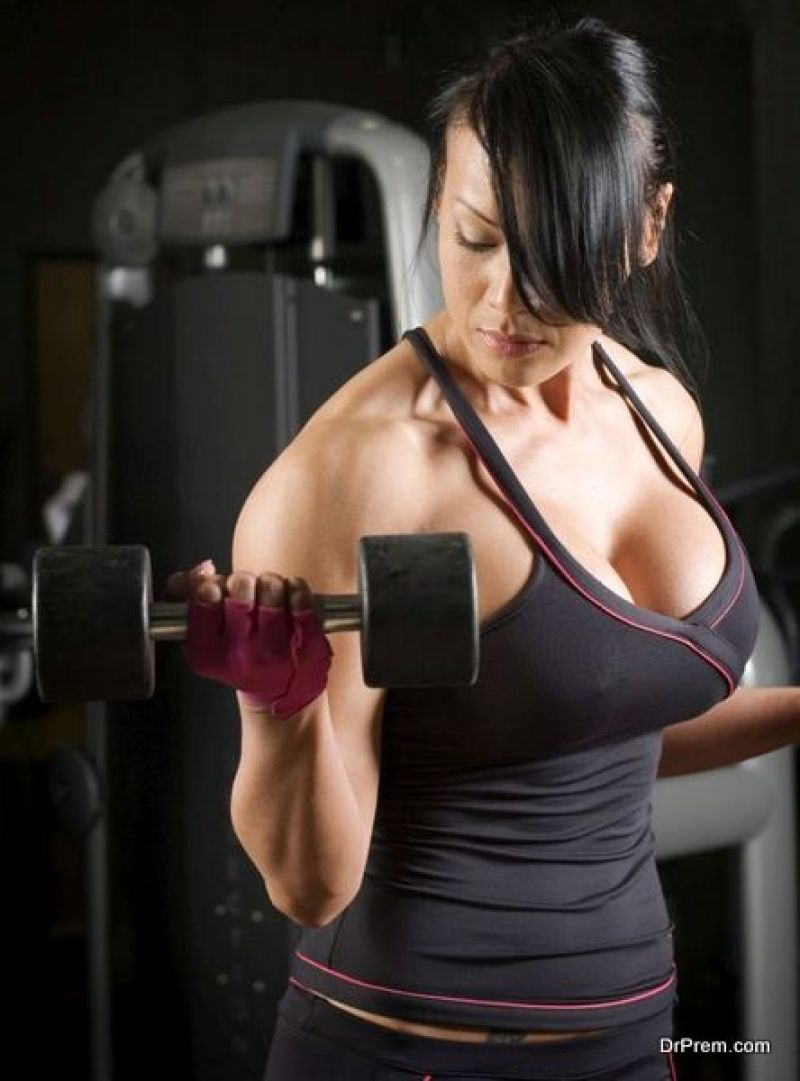 exercising thrice a week
