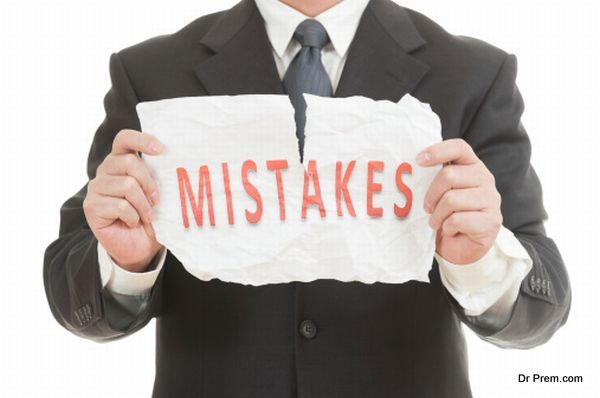 Tearing mistakes word