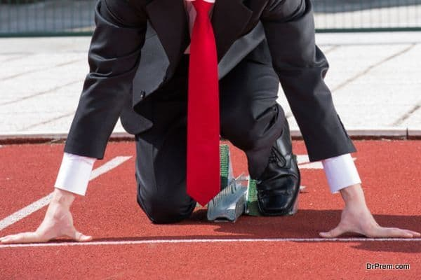 Businessman ready on track to run