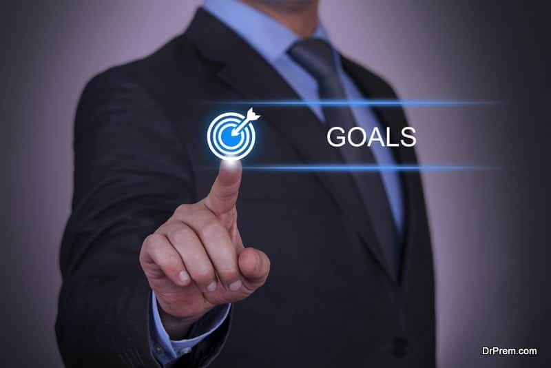 goal should be within your reac