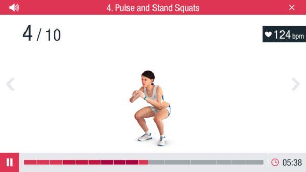 Runtastic leg trainer app 3