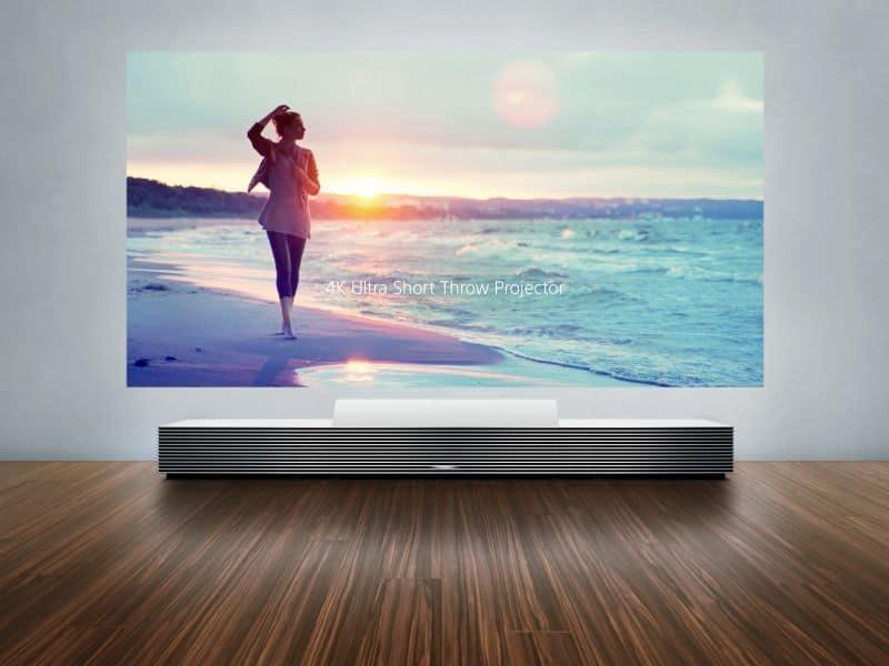sony cinema screen wall size TV