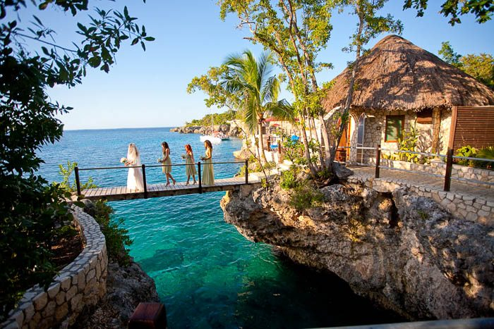 Rock house, Negril, Jamaica