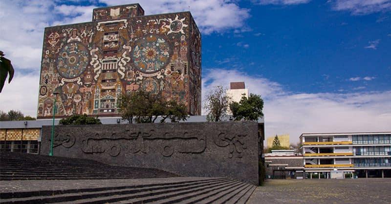 Unam Central Library, Mexico City, Mexico