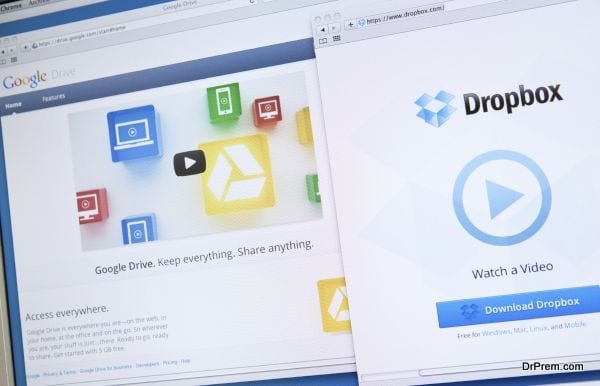 how to move files from dropbox to email