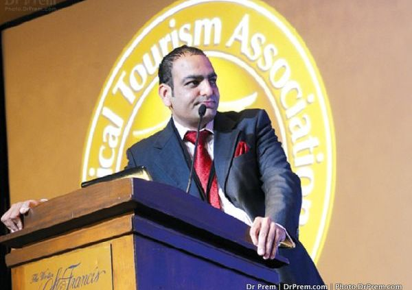 Dr Prem Speaks during Medical Tourism Congress in San Francisco, US-L