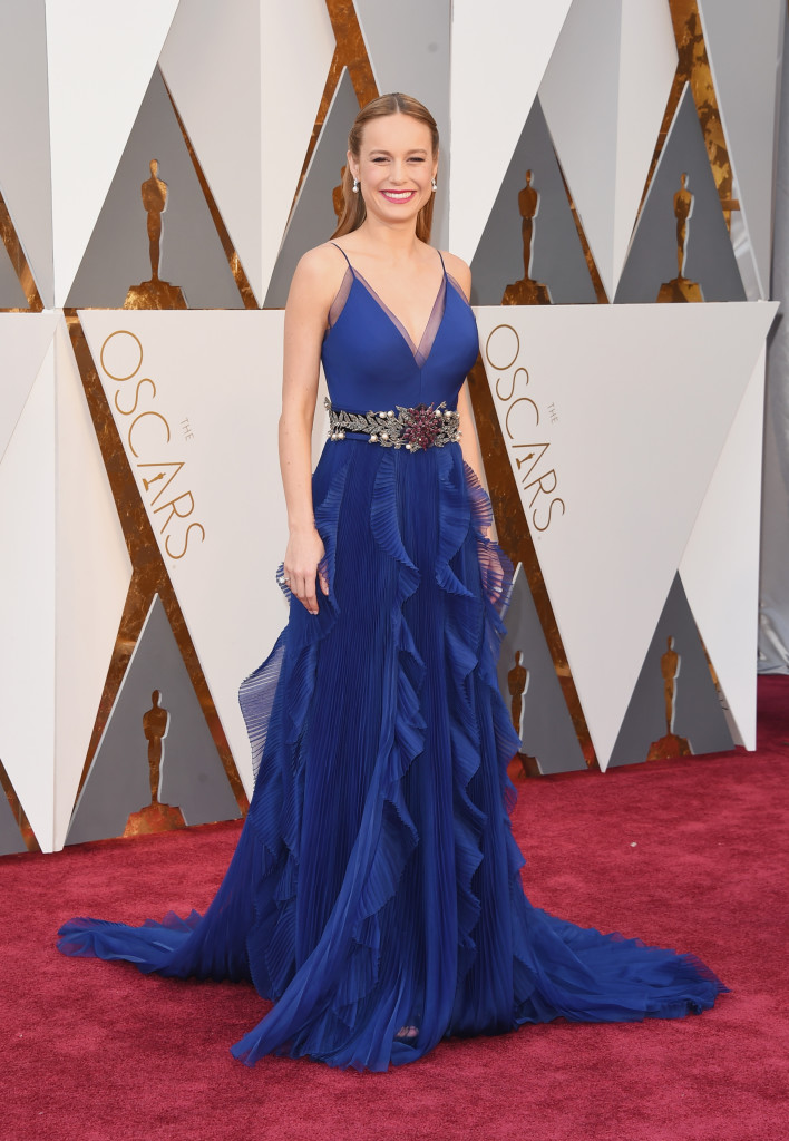 Brie Larson - Oscars Red Carpet Arrivals
