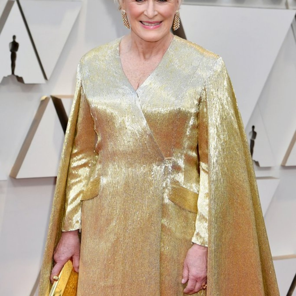 Glenn Close on the Oscars Red Carpet 2019