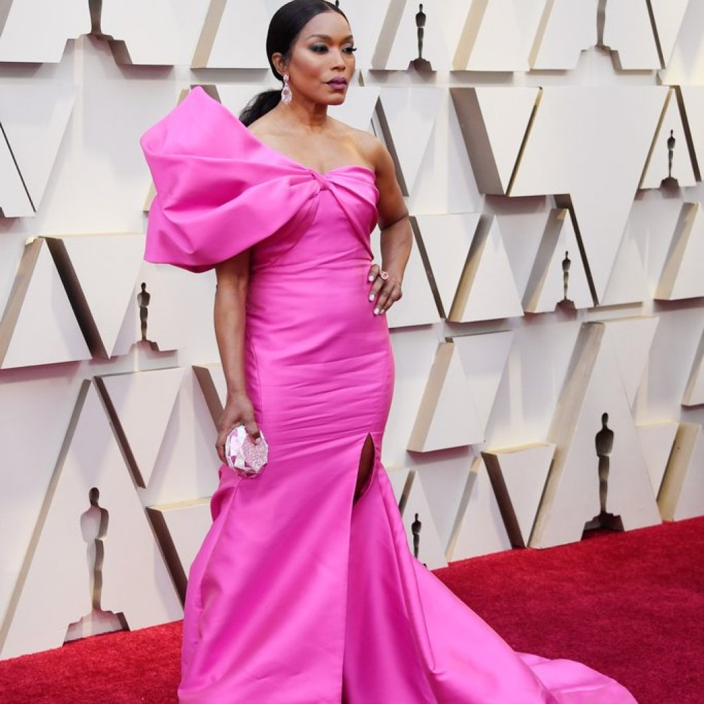 Angela Bassett on the Oscars Red Carpet 2019