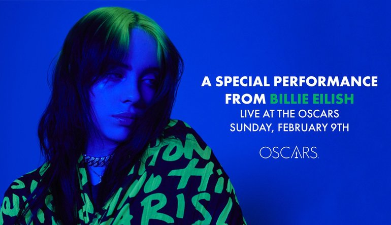 Billie Eilish Special Performance Announcement - Oscars 2020