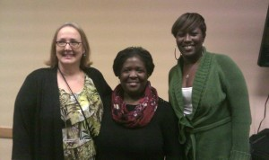 From Left to Right: Barbara Calhoun (COSEPTA President), Gwen Brown (Peer Advocate), Andrea Harris (Community Work Incentives Coordinator)