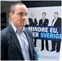 Kent Ekeroth, Sweden Democrat Jewish deputy