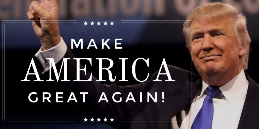 Image result for trump make america great again