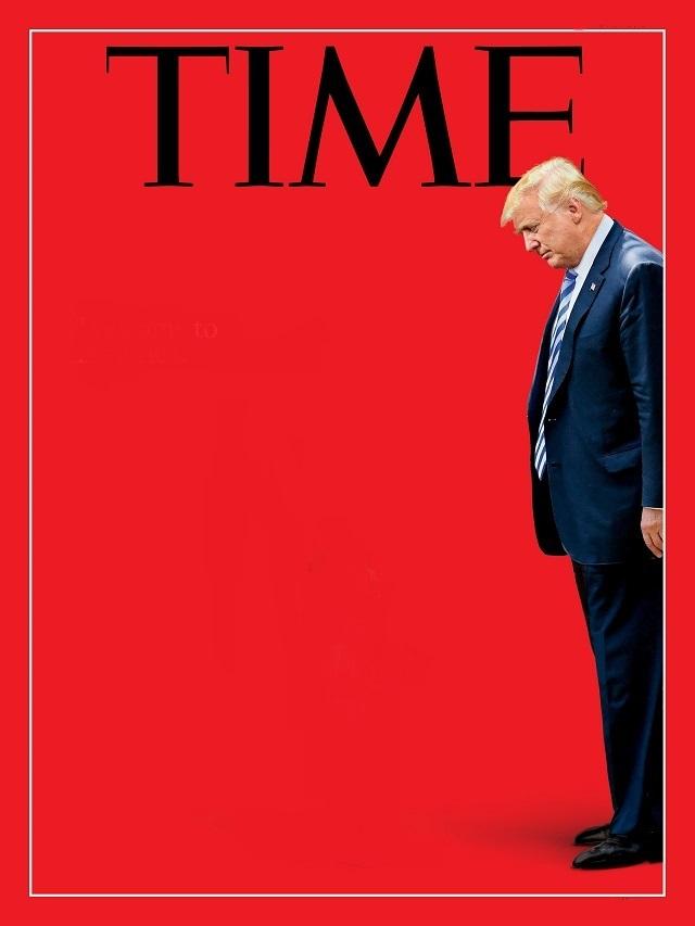 Political magazine cover template maxwellsz