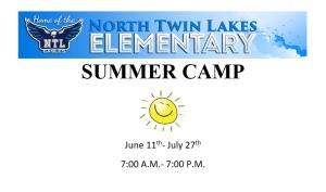 NTL Summer Camp