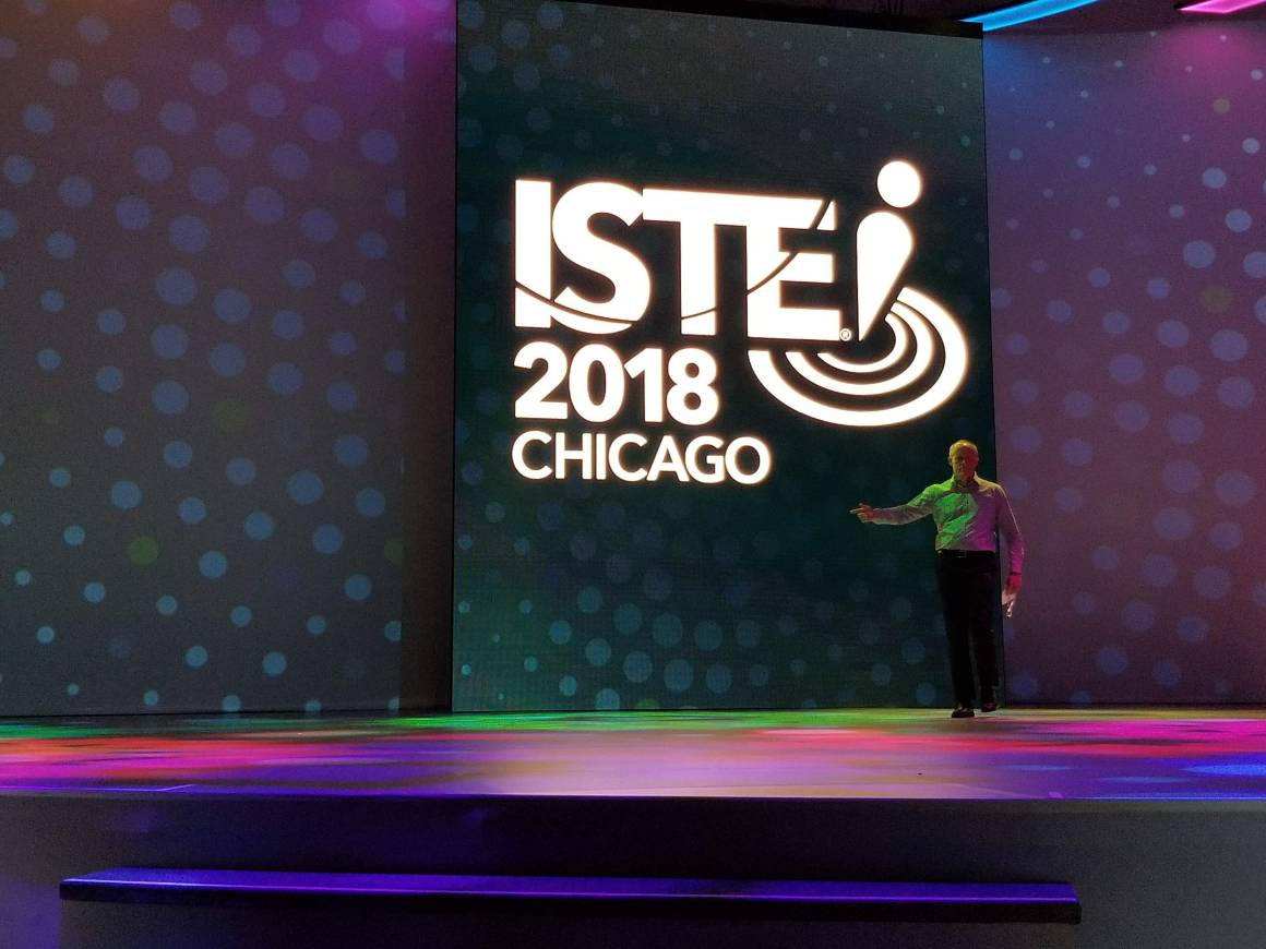 Dr. Dillon at ISTE 2018