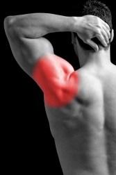Inflammed Shoulder Man