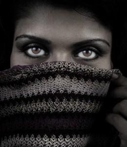 Eyes Woman Scarf
