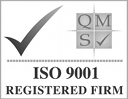 QMS ISO 9001 Registered Firm