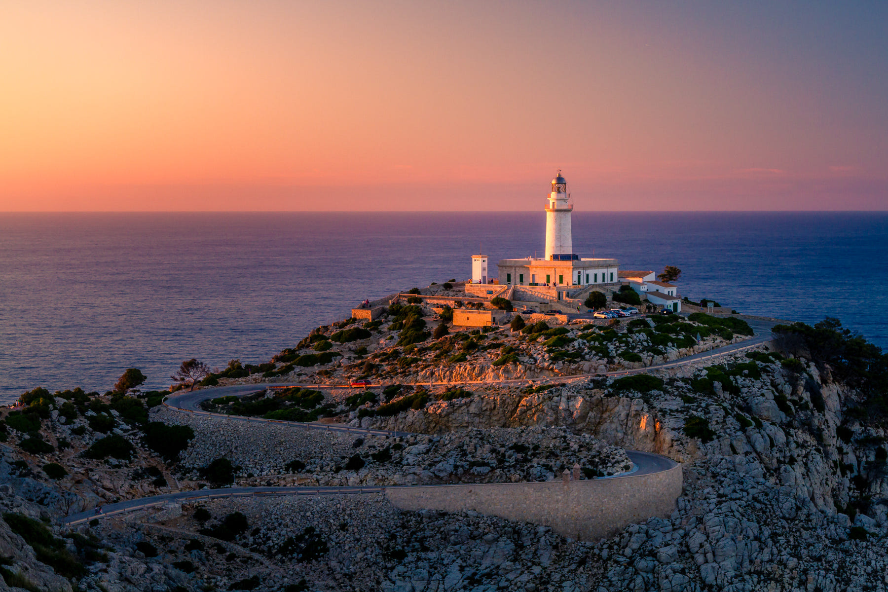 Sunset At The Lighthouse By Stefan Brenner Photo