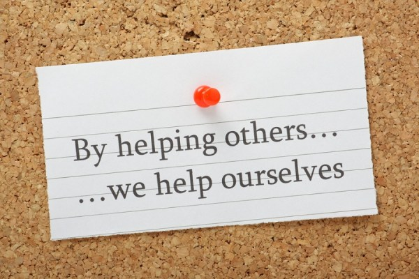 helping others under social isolation