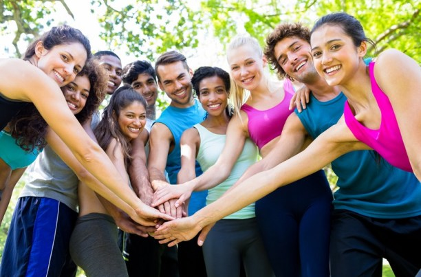 support from others helps build healthy habits