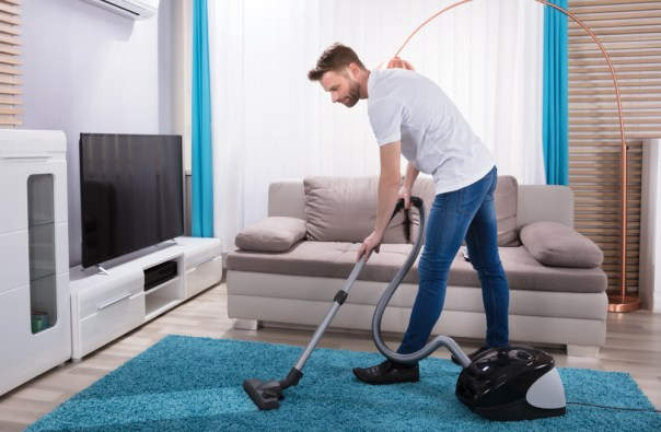 even vacuuming counts as exercise