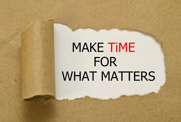 time- make time
