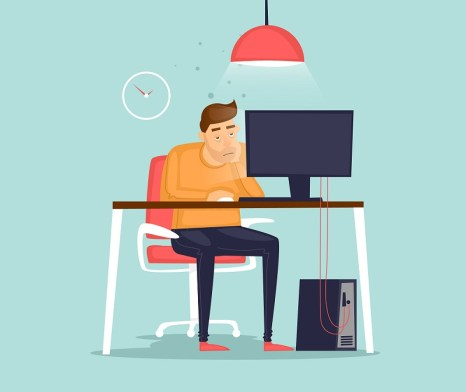 sit less when working from home