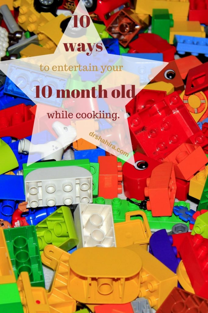 10 ways to entertain your 10 month old while cooking