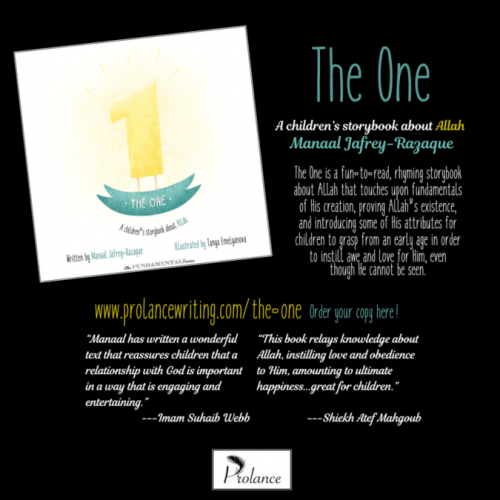 Book review - The one. A perfect book for little children for introduction to the attributes of Allah