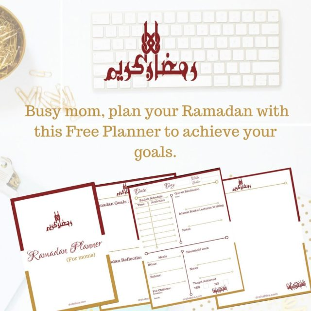 FREE RAMADAN Planner For Moms