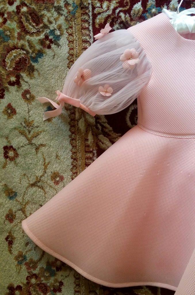 Eid traditions with children - New dress, luxury eid dress