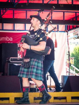 The Go Set Bagpiper Lachlan McSwain